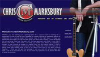 ChrisMarksbury.com Website