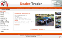 dealer trader web application customer friendly individual view page
